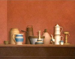william bailey nature morte