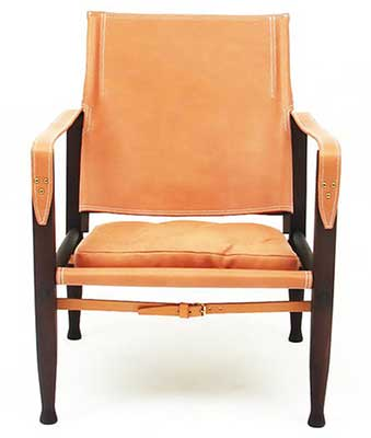 Modern Safari Chair designed by Kaare Klint