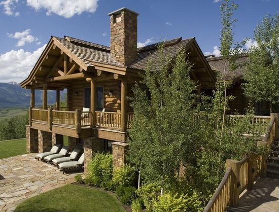 Jackson Hole Log Home