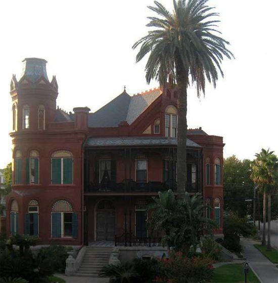 Maison ancienne de galveston texas - Maison de style victorien ...