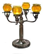 Lampe Bougeoir , Tiffany 1900-1914