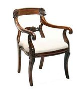 Fauteuil George IV