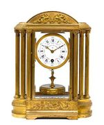Rare early 20th c. French clock