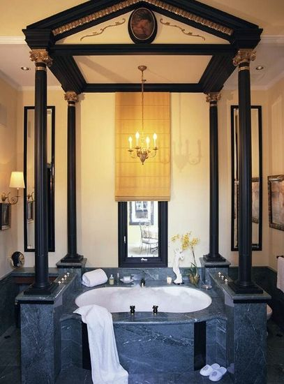 Une salle de bain originale for Salle bain originale