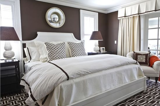 Emejing Chambre Marron Beige Ideas - House Design - marcomilone.com