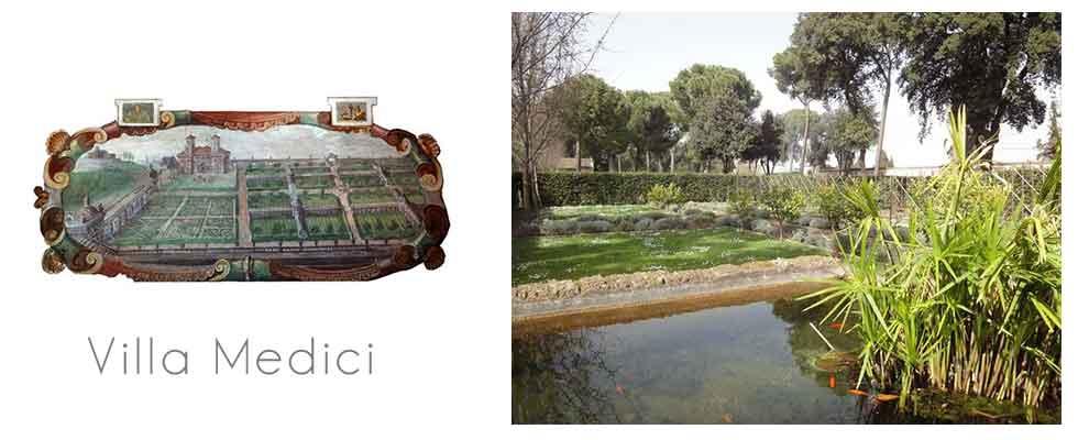 Jardins italiens ici et ailleurs for Jardin villa medicis rome