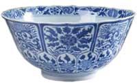 A Chines porcelain bown, circa 1700
